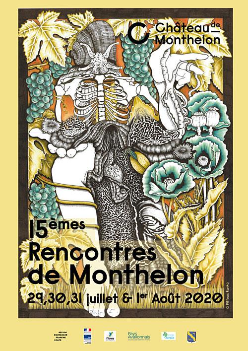 15emesRencontresDeMonthelon Chateau Montreal Yonne 89 juillet aout2020.jpg
