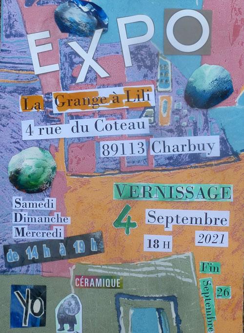 Exposition Ceramiques Yo Netange La Grange a Lili Charbuy sept2021.jpg