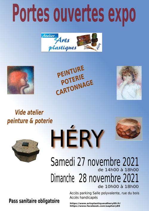Portes Ouvertes Exposition Atelier Arts Plastiques Hery 27 28 nov2021.jpg