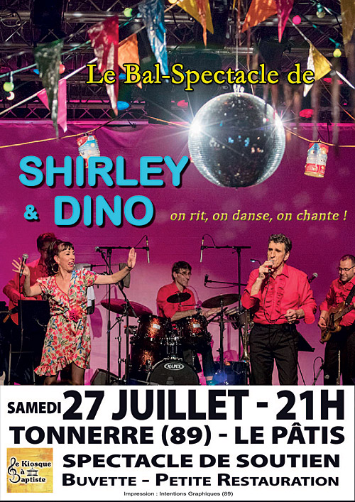 LE BAL-SPECTACLLE DE SHIRLEY & DINO / On rit, on danse, on chante !