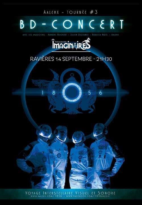 FESTIVAL DES IMAGINAIRES DU TONNERROIS : BD-CONCERT /