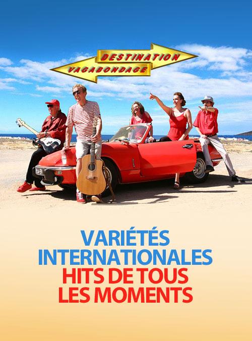 Soirée année 80 avec le groupe DESTINATION VAGABONDAGE (hits français et internationaux de tous les moments)