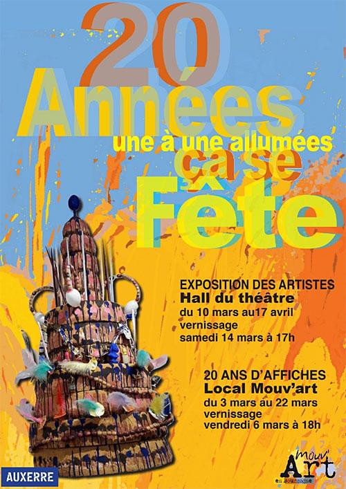 Vernissage 20 ANS DE MOUV'ART ÇA SE FETE !