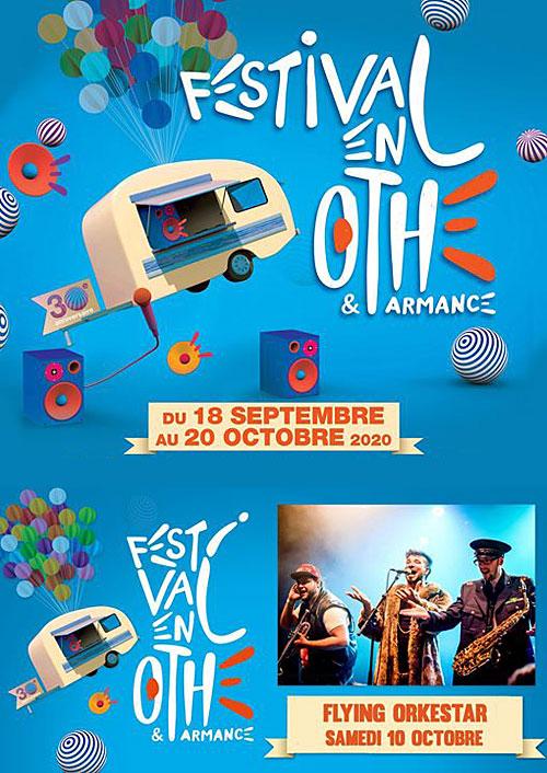 FESTIVAL EN OTHE : CONCERT avec Flying Orkestar (Balkan Festif)