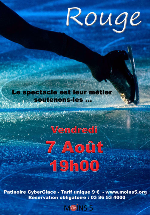 SPECTACLE SUR GLACE :