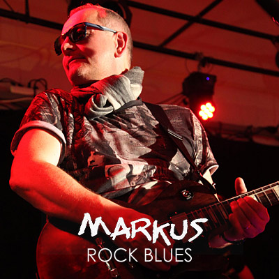 MARKUS - Musique (Guitariste chanteur / Rock-blues)
