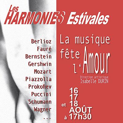 LES HARMONIES ESTIVALES - Musique classique, musique baroque, musique de chambre, musique russe
