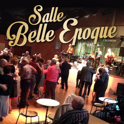 SALLE BELLE EPOQUE - Musique, danse de salon / Soirée à thème, repas, dîners, après-midis dansants, concerts / accordéon, variété, musette, années 80...