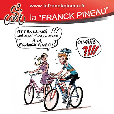 LA FRANCK PINEAU - Cyclotourisme, VTT et randonnée pédestre