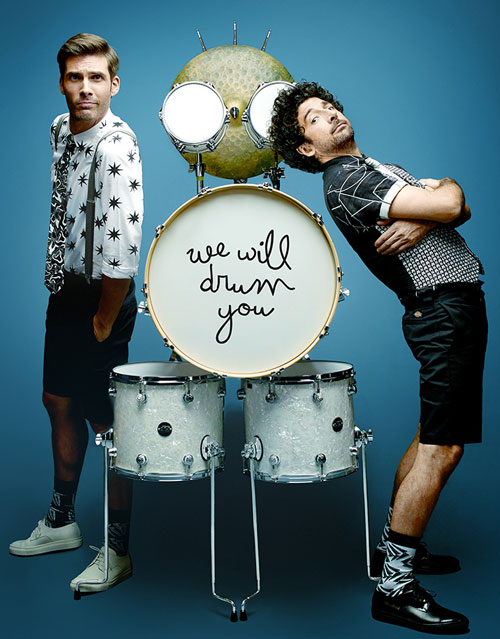 HUMOUR MUSICAL : We will drum you / Fills Monkey