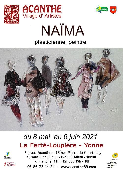 Exposition Naima Acanthe La Ferte Loupiere mai juin 2021.jpg