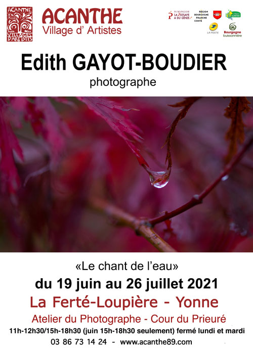 Exposition photos Edith Gayot Boudier Acanthe La Ferte Loupiere juin juillet 2021.jpg