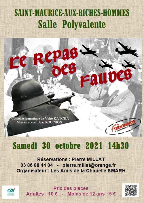 Theatre Sans Nom de Maillot Le Repas des Fauves Saint Maurice aux Riches Hommes 30 10 2021 v3.jpg