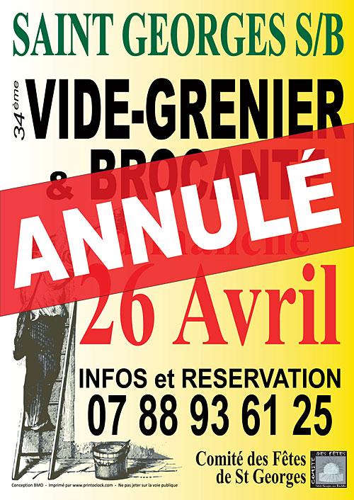 24ème VIDE-GRENIER & BROCANTE (400 exposants)