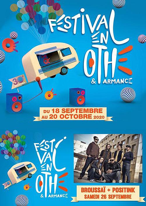 FESTIVAL EN OTHE : CONCERT avec Broussaï + Positink (Reggae)