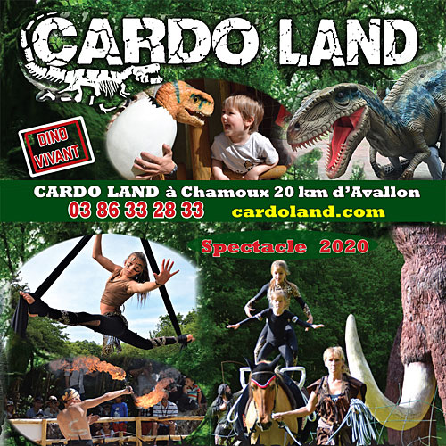 Visitez le parc d'attractions CARDO LAND consacré à la préhistoire et au monde des dinosaures