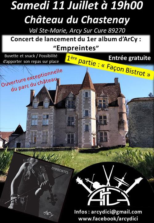Concert avec ArCy (sortie de leur 1er album