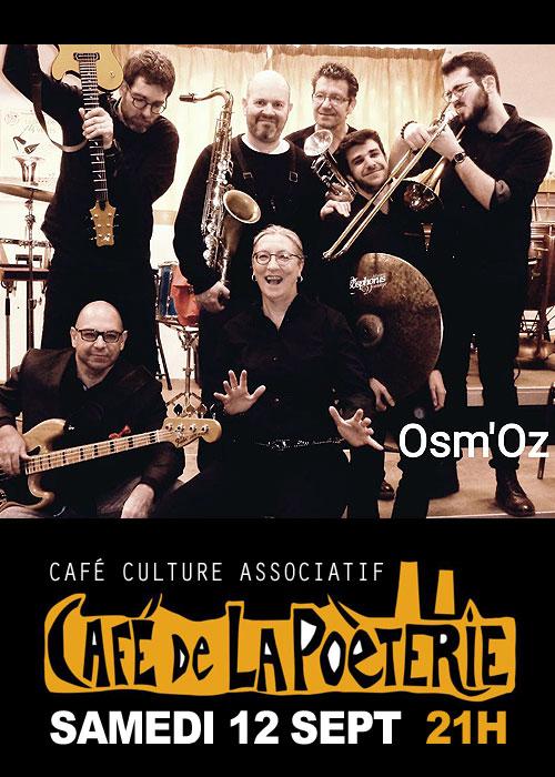 CONCERT avec OSM'OZ / Le JAZZ sous toutes ses coutures, du jazz pentatonique aux standards en passant par le free jazz