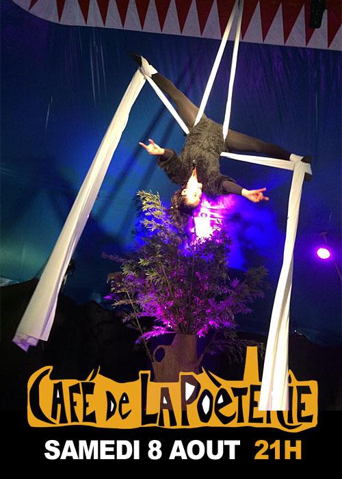 Spectacle de Cirque (Une soirée, deux spectacles !) : Manipulation (Cirqum Solo) et Rencontre (La Compagnie sans Nom)