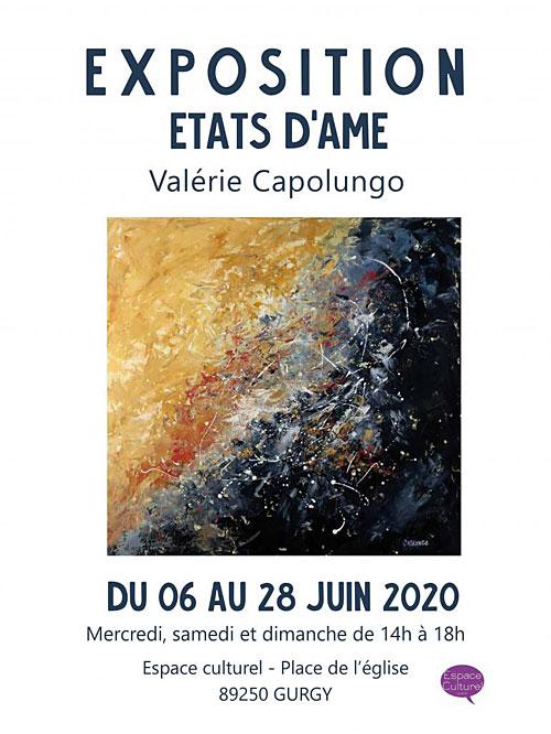 EXPOSITION du 6 au 28 juin :