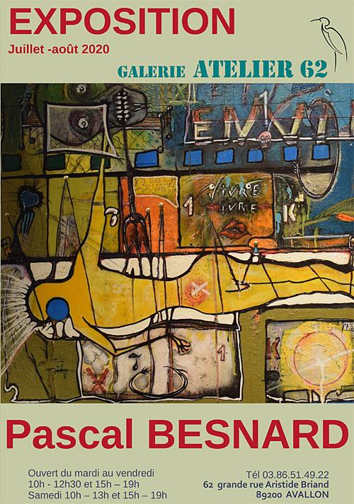 Exposition de Pascal Besnard (peintures)