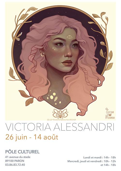 EXPOSITION : VICTORIA ALESSANDRI (Illustration / concept art) du 26 juin au 14 août