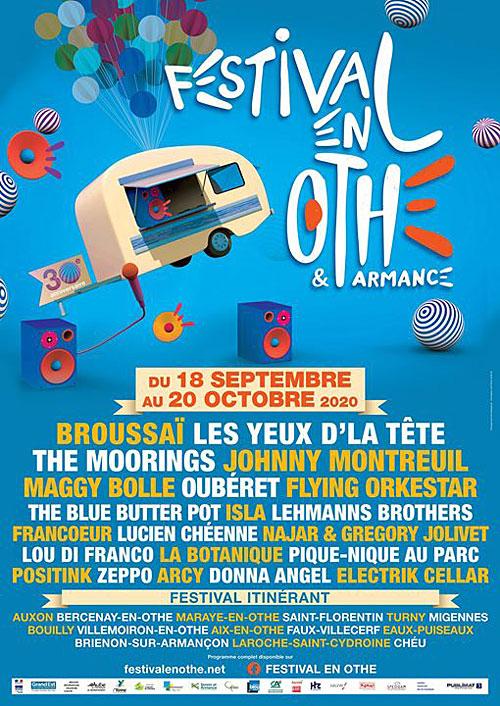 FESTIVAL EN OTHE : CONCERT avec Isla + La Botanique (Jazz Hip Hop)