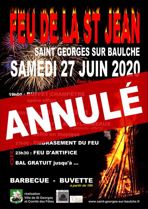 FEU DE LA SAINT-JEAN : DEFILE AUX LAMPIONS + FEU DE LA SAINT-JEAN + FEU D'ARTIFICE + CONCERT (avec retraite aux flambeaux et barbecue-buvette)