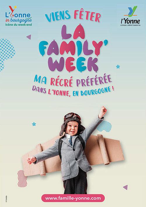 Viens fêter LA FAMILY WEEK (2ème édition) :