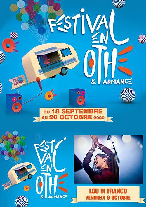 FESTIVAL EN OTHE : CONCERT avec Lou Di Franco (Pop Nu-Jazz)