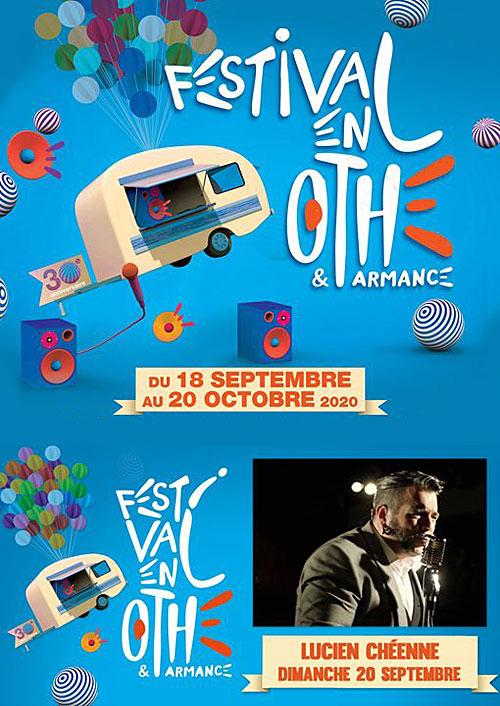 FESTIVAL EN OTHE : CONCERT avec Lucien Chéenne (Country Folk  n'blues)