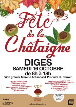 40ème Fête de la Châtaigne : vide grenier, marché artisanal, produits du terroir et nombreuses animations