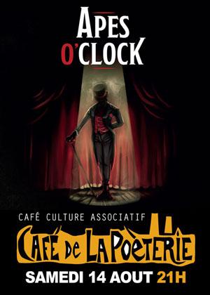 Concert avec Apes O'Clock (hip hop / brass band)