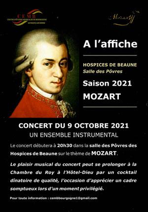 Concert avec l'Ensemble instrumental Mozart (musique baroque)