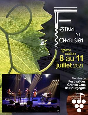 Concert JAZZ par Soul Blade Orchestra dans le cadre du 17ème Festival du Chablisien