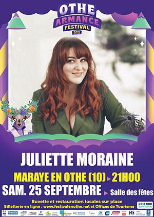 Othe-Armance Festival (festival itinérant) : Concert avec Juliette Moraine (chanson, variété française)