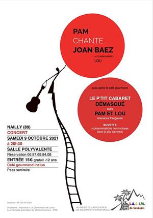 Concert : Pam et Lou chantent Joan Baez et des chansons françaises