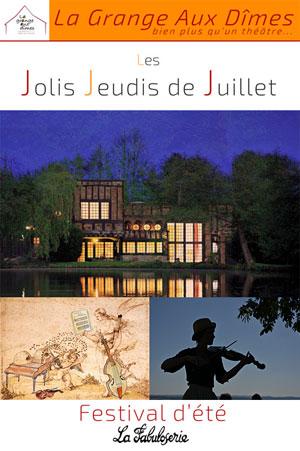 Les Jolis Jeudis de Juillet : « Vive la Nature ! » / Les artistes de la Grange aux Dîmes vous font butiner en lectures de miel / Concert Baroque « L'AMOUR PIQUÉ PAR UNE ABEILLE » par l'ensemble Artifices (Saône et Loire)