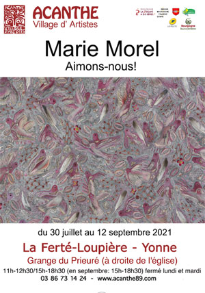 Exposition : Marie Morel (plasticienne)