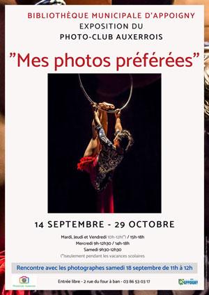 Exposition du PhotoClub Auxerrois