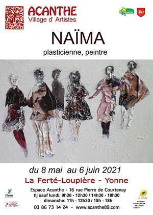 Exposition : Naïma (plasticienne, peintre)