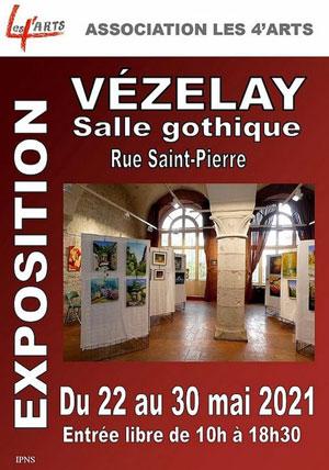 Exposition par l'association LES 4'ARTS (peintures et sculptures)