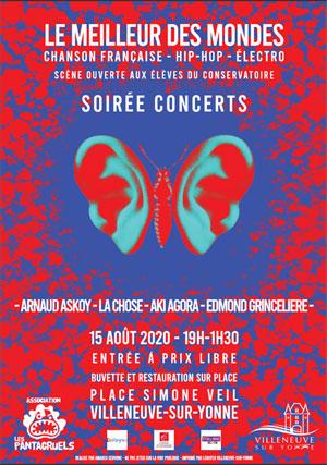 Festival de musique / soirée concerts :