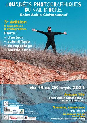 3ème édition des Journées photographiques du Val d'Ocre : 9 expositions et 8 photographes (photo d'auteur, photo de reportage, photo scientifique, photo plasticienne)