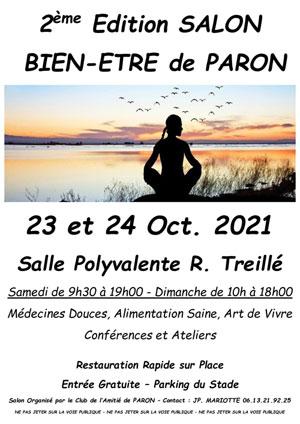 Salon Bien-Etre : Médecines Douces, Alimentation Saine, Art de Vivre, Conférences et Ateliers (23 et 24 octobre)