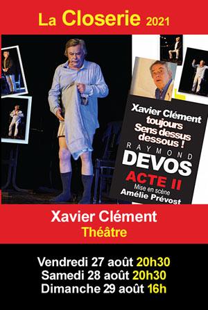 Théâtre (reprogrammé) :