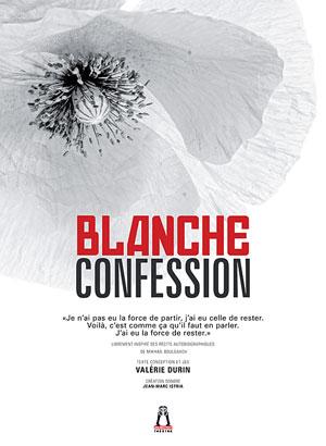 Théâtre : BLANCHE CONFESSION (Pièce pour une actrice librement inspirée des récits, nouvelles et journaux de Mikhaïl Boulgakov) par Valérie DURIN dans le cadre du Festival Les Féminines