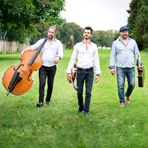 Concert avec Adrien Marco Trio (Jazz Manouche)