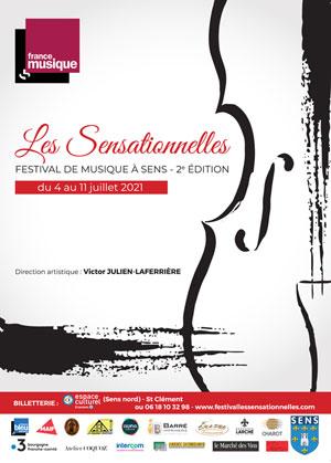 Concert / Festival Les Sensationnelles (musique classique) / Divertimenti de Mozart et Bartok / Orchestre CONSUELO (Direction Victor JULIEN-LAFERRIERE)