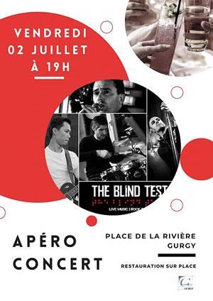 Apéro-concert avec The Blind Test (pop rock)